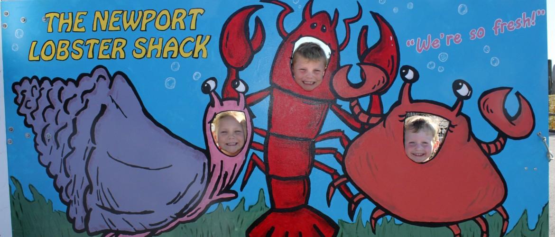 Newport Seafood Mural